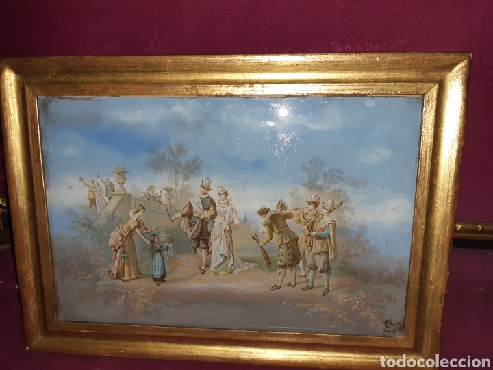 CRISTAL PINTADO (Arte - Pintura - Pintura al Óleo Antigua sin fecha definida)
