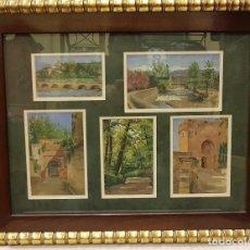 Arte: 5 PINTURAS GRANADA. Lote 194518073