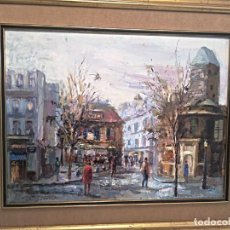 Arte: JULIAN E OCAÑA , OLEO SOBRE LIENZO . Lote 194539626