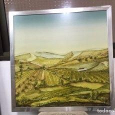 Arte: PINTURA AL ÓLEO/ DIFERENTES TÉCNICAS SOBRE TABLA FIRMADA POR ROBERTO. Lote 194557543