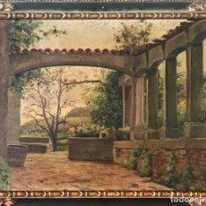 Arte: JOSEP ARMENGOL BAS 1924 OLEO SOBRE LIENZO ( ESCUELA CATALANA). Lote 194576272