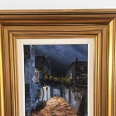 Arte: JOSE CARRION ,ÓLEO SOBRE TABLA DE METAL . Lote 194580442