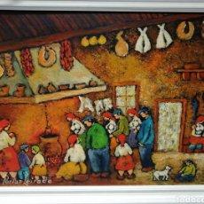 Arte: ÓLEO SOBRE LIENZO. PORTAS LEIRADO. Lote 194595057