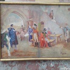 Arte: CUADRO CASACAS ROJAS. Lote 194608106