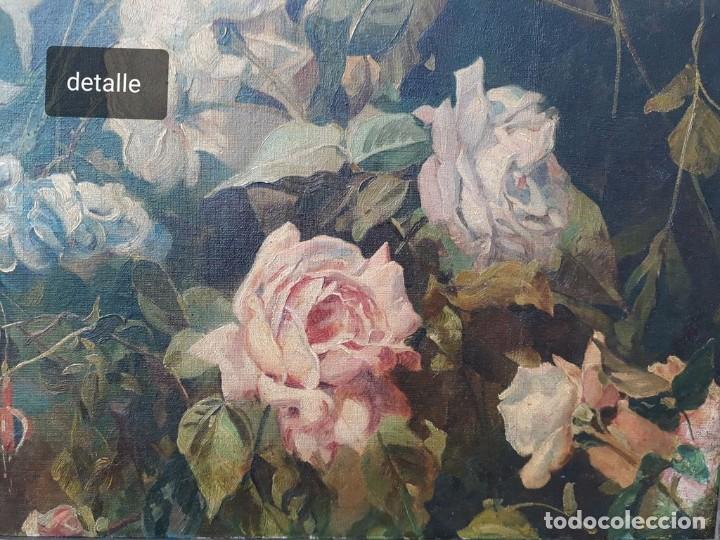 Arte: Rafael Latorre Viedma (Granada 1872-1960 ) FLORES - Foto 2 - 194609491