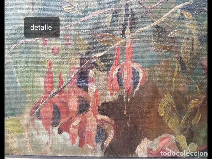 Arte: Rafael Latorre Viedma (Granada 1872-1960 ) FLORES - Foto 4 - 194609491