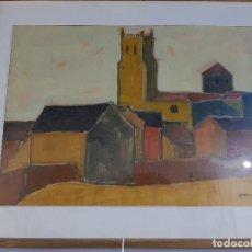 Arte: OLEO DE GABINO GAONA - ORIGINAL FIRMADO (1933-2007. Lote 194621595