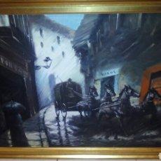 Arte: GRAN CUADRO OLEO SOBRE LIENZO, 112X85 CM.FIRMADO .BELLER. Lote 194626845