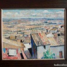 Arte: JAUME PLA PALLEJÀ (RUBÍ, 1914-1995). ÓLEO/TABLA 40 X 32 CM. FIRMADO Y FECHADO 1978. CON MARCO.. Lote 194659525