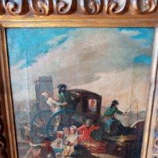 Arte: ESCUELA ESPAÑOLA S.XIX EL CACHARRERO. Lote 194676350