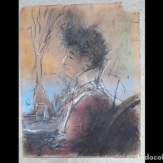 Arte: J. MARTINEZ DE LA VEGA (1846 ) PINTURA MALAGUEÑA XIX-XX. Lote 194679135