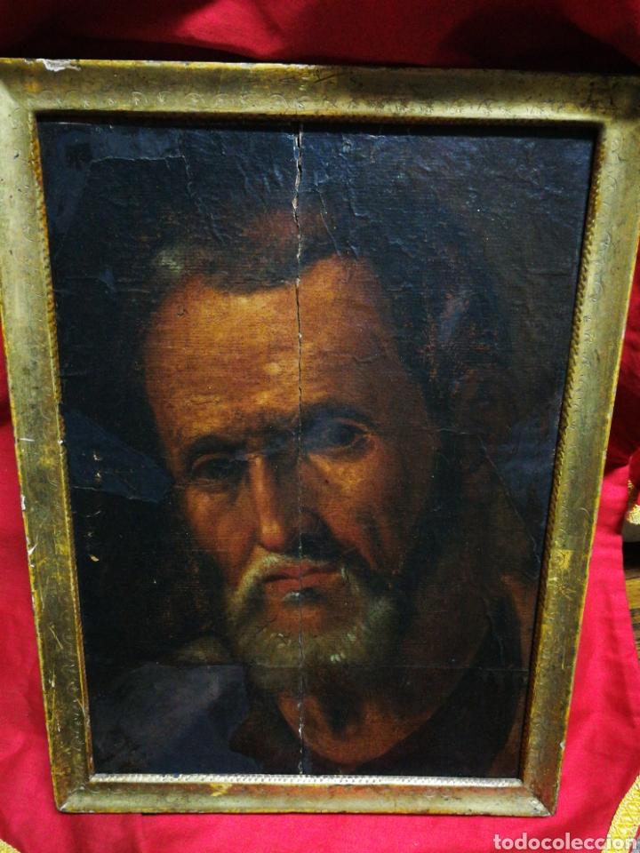 Arte: INCREÍBLE ÓLEO BARROCO SOBRE MADERA, ATRIBUIDO A JUAN RIBALTA (ESCUELA ESPAÑOLA),S.XVII. 38X28CM. - Foto 3 - 194680675