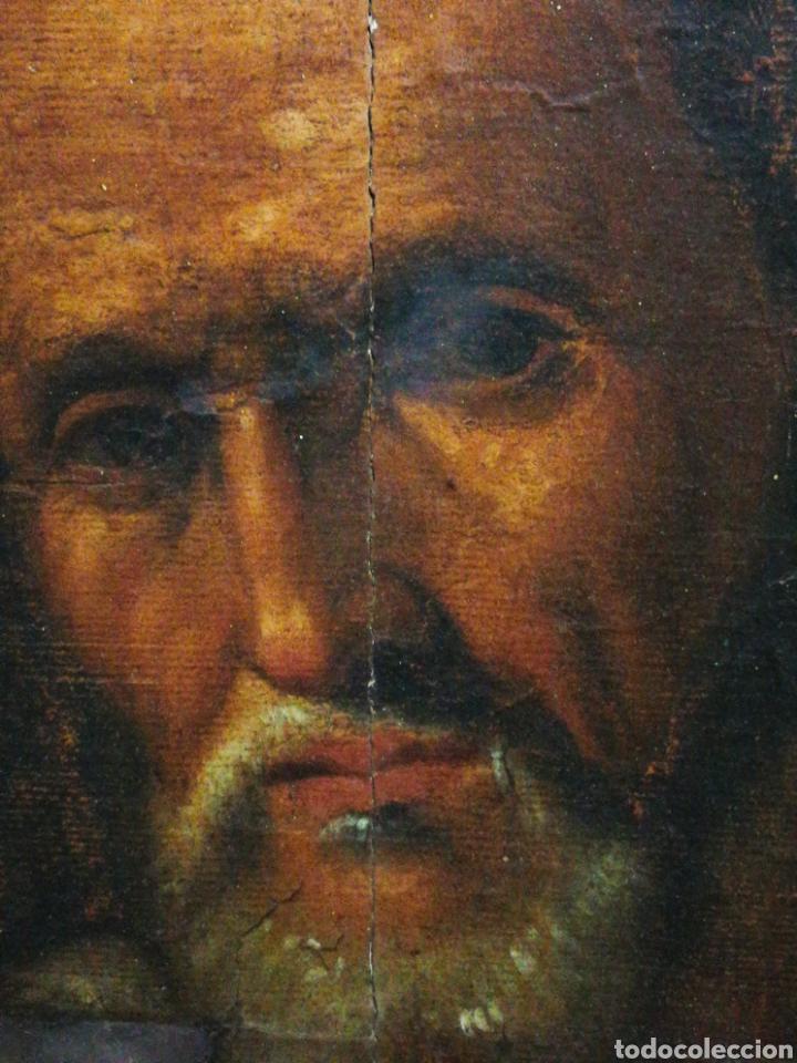 Arte: INCREÍBLE ÓLEO BARROCO SOBRE MADERA, ATRIBUIDO A JUAN RIBALTA (ESCUELA ESPAÑOLA),S.XVII. 38X28CM. - Foto 4 - 194680675