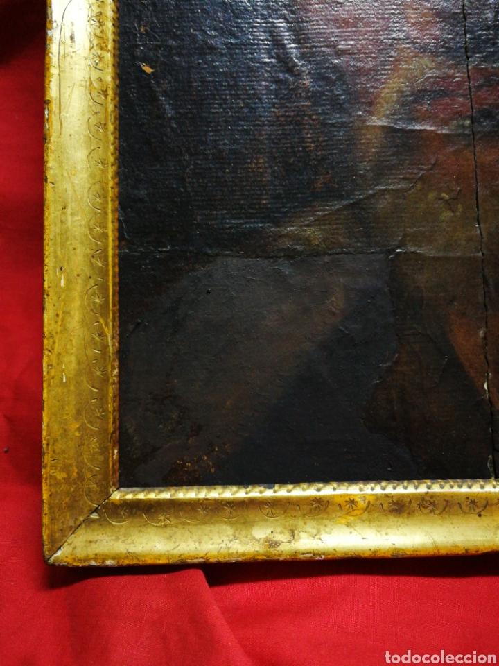 Arte: INCREÍBLE ÓLEO BARROCO SOBRE MADERA, ATRIBUIDO A JUAN RIBALTA (ESCUELA ESPAÑOLA),S.XVII. 38X28CM. - Foto 6 - 194680675