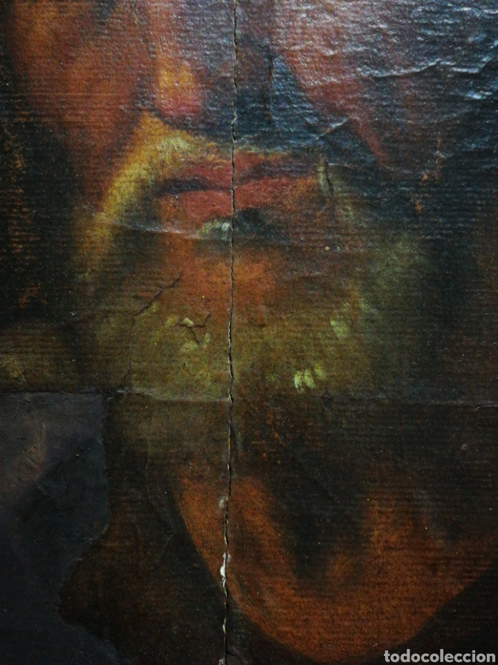 Arte: INCREÍBLE ÓLEO BARROCO SOBRE MADERA, ATRIBUIDO A JUAN RIBALTA (ESCUELA ESPAÑOLA),S.XVII. 38X28CM. - Foto 7 - 194680675