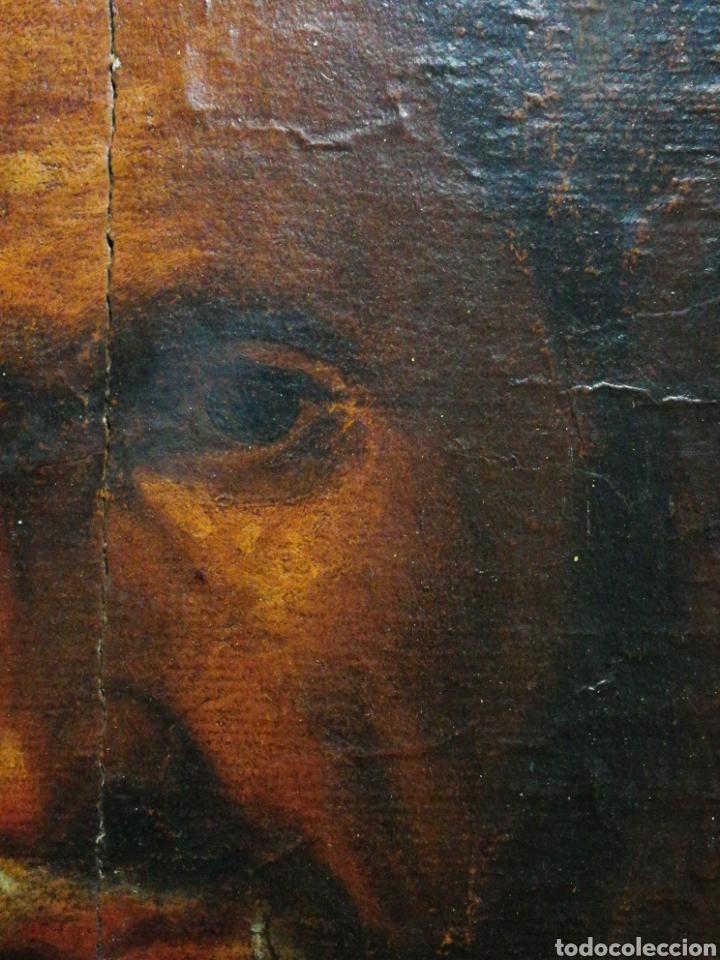 Arte: INCREÍBLE ÓLEO BARROCO SOBRE MADERA, ATRIBUIDO A JUAN RIBALTA (ESCUELA ESPAÑOLA),S.XVII. 38X28CM. - Foto 8 - 194680675