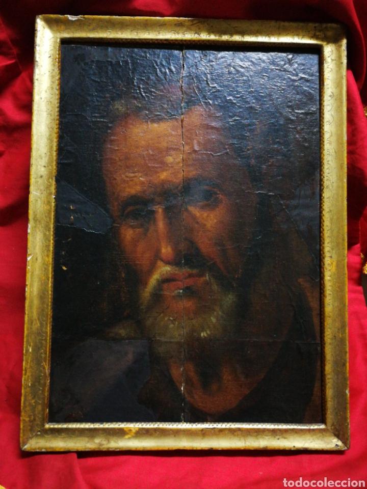 Arte: INCREÍBLE ÓLEO BARROCO SOBRE MADERA, ATRIBUIDO A JUAN RIBALTA (ESCUELA ESPAÑOLA),S.XVII. 38X28CM. - Foto 9 - 194680675