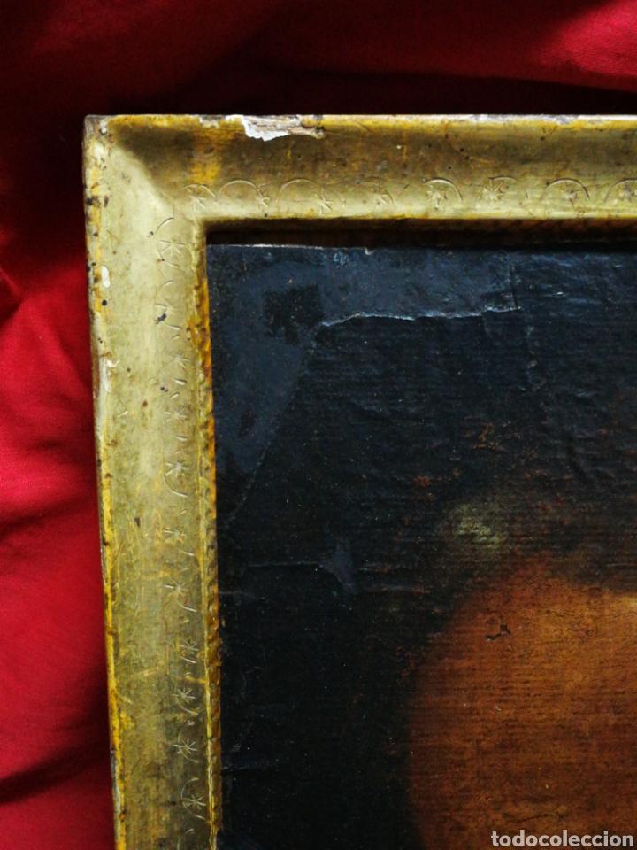 Arte: INCREÍBLE ÓLEO BARROCO SOBRE MADERA, ATRIBUIDO A JUAN RIBALTA (ESCUELA ESPAÑOLA),S.XVII. 38X28CM. - Foto 12 - 194680675
