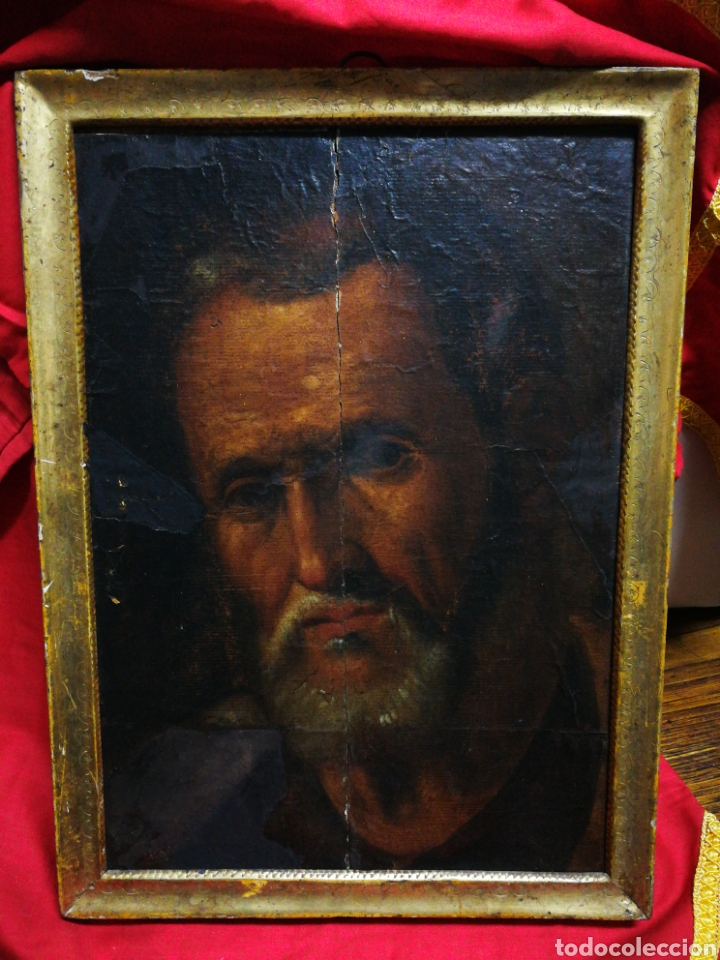 Arte: INCREÍBLE ÓLEO BARROCO SOBRE MADERA, ATRIBUIDO A JUAN RIBALTA (ESCUELA ESPAÑOLA),S.XVII. 38X28CM. - Foto 18 - 194680675