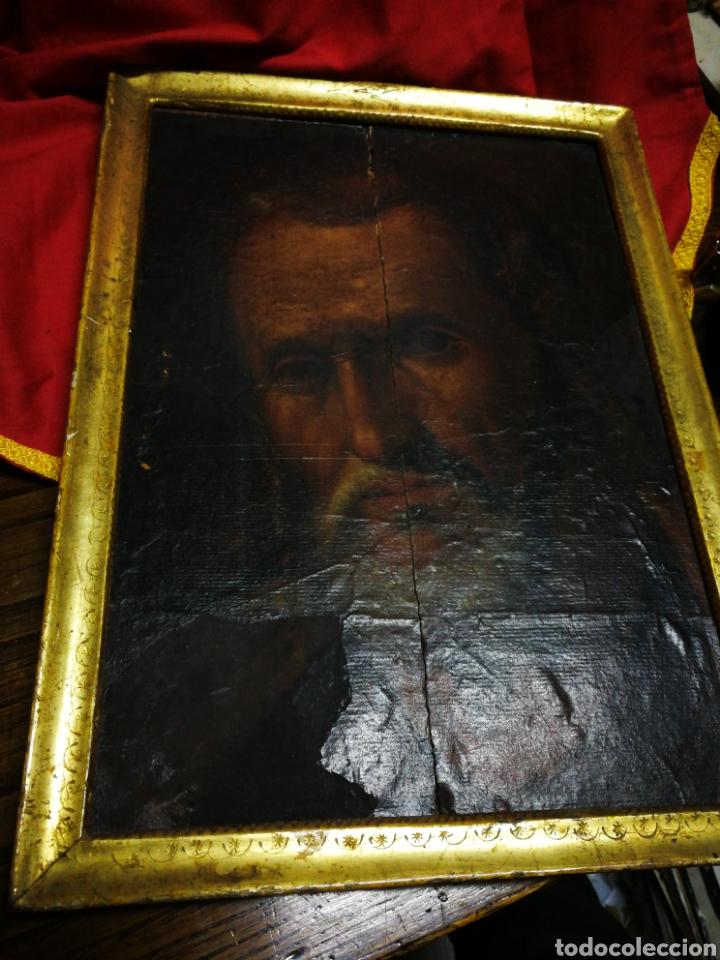 Arte: INCREÍBLE ÓLEO BARROCO SOBRE MADERA, ATRIBUIDO A JUAN RIBALTA (ESCUELA ESPAÑOLA),S.XVII. 38X28CM. - Foto 24 - 194680675