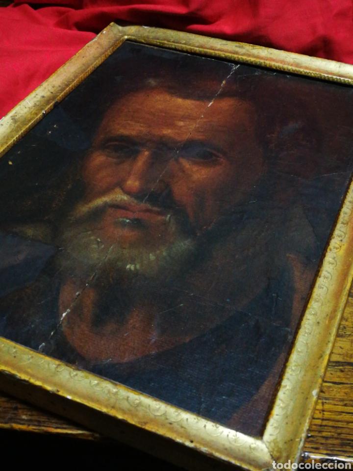 Arte: INCREÍBLE ÓLEO BARROCO SOBRE MADERA, ATRIBUIDO A JUAN RIBALTA (ESCUELA ESPAÑOLA),S.XVII. 38X28CM. - Foto 25 - 194680675