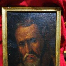 Arte: INCREÍBLE ÓLEO BARROCO SOBRE MADERA, ATRIBUIDO A JUAN RIBALTA (ESCUELA ESPAÑOLA),S.XVII. 38X28CM.. Lote 194680675