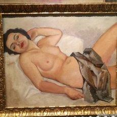 Arte: DESNUDO POR JOSEP OBIOLS (1894-1967). Lote 194701967