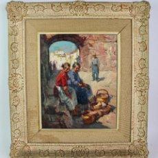 Arte: OLEO SOBRE LIENZO, FIRMADO CHICO PRATS. S.XX.. Lote 194703471