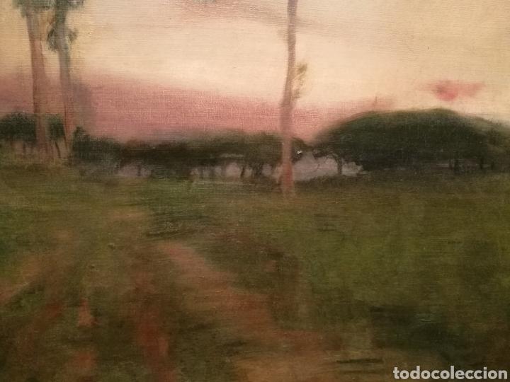 Arte: PAISAJE POR LAUREÀ BARRAU (1863-1957) - Foto 4 - 194717763