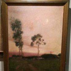 Arte: PAISAJE POR LAUREÀ BARRAU (1863-1957). Lote 194717763