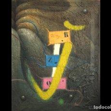 Arte: NATOLI PINAZO : TEXTURA_EFECTO Nº 701 MALAGA. Lote 194778273