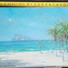 Arte: PAISAJE. ÓLEO SOBRE TABLA. RICARDO GÓMEZ CAMPUZANO. (1891-1981 COLOMBIA). Lote 194783762