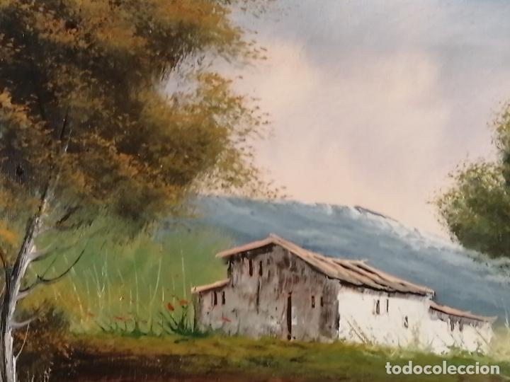 Arte: ÓLEO SOBRE LIENZO. PAISAJE. FIRMADO - Foto 4 - 194786037