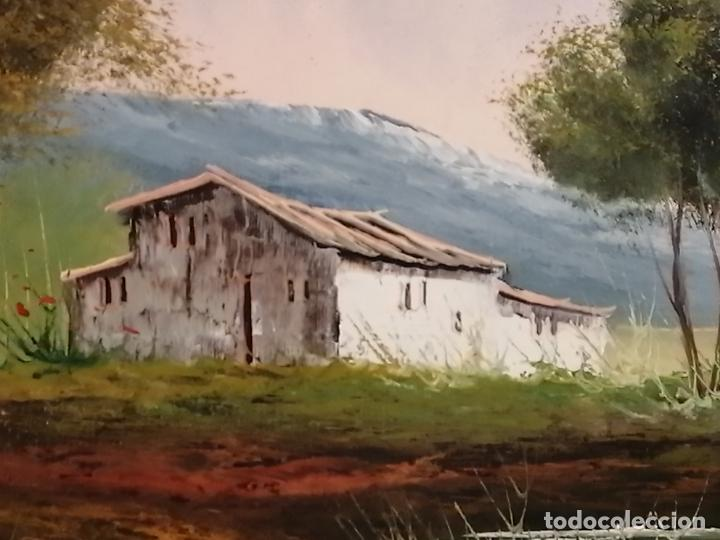 Arte: ÓLEO SOBRE LIENZO. PAISAJE. FIRMADO - Foto 5 - 194786037