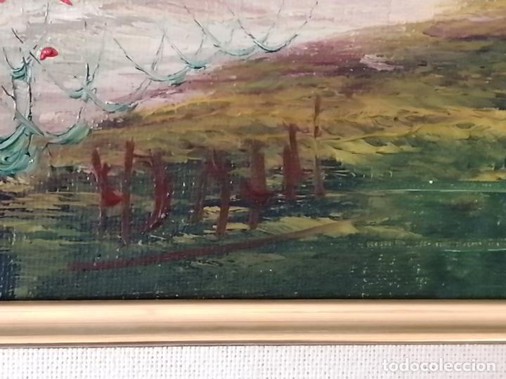 Arte: ÓLEO SOBRE LIENZO. PAISAJE. FIRMADO - Foto 6 - 194786037