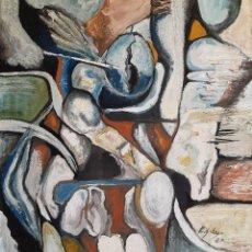 Arte: PINTURA SOBRE TELA ORIGINAL FIRMADA. Lote 194861876