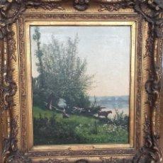 Arte: EDOUARD DALIPHARD (RUAN 1833-1877). Lote 194862817