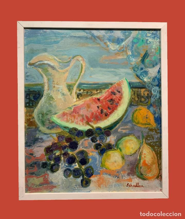 NATURALEZA MUERTA CON SANDIA (Arte - Pintura - Pintura al Óleo Moderna sin fecha definida)