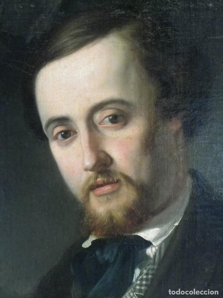 RETRATO ÉPOCA ROMÁNTICA, SIGLO XIX (Arte - Pintura - Pintura al Óleo Moderna siglo XIX)