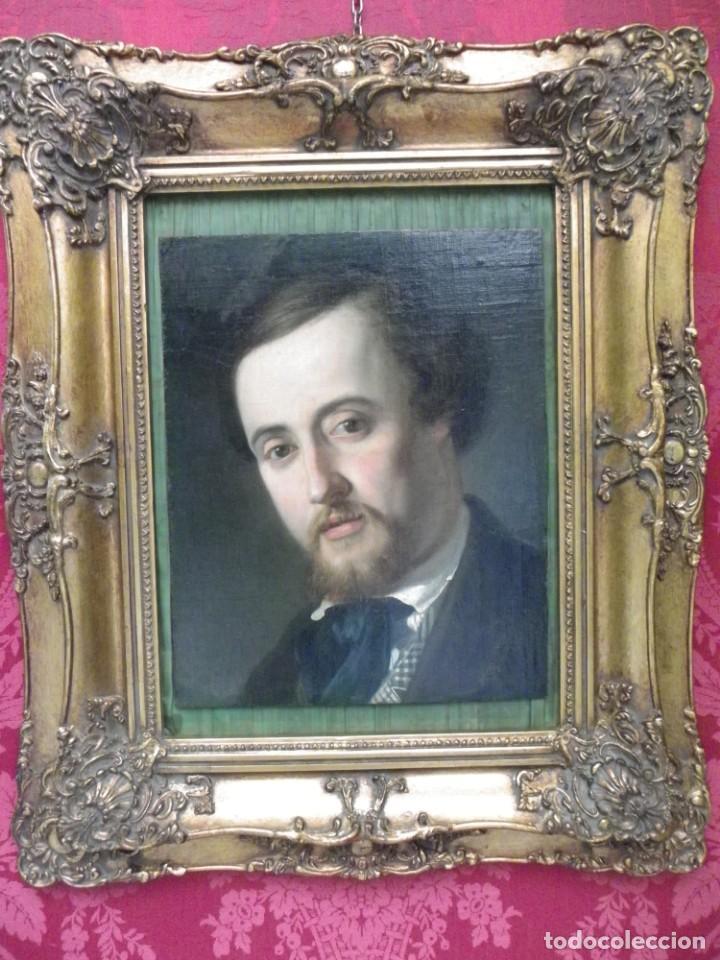 Arte: Retrato época romántica, siglo XIX - Foto 3 - 194888812
