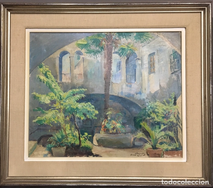 A - PINTURA AL ÓLEO CONTEMPORÁNEA OLEGUER JUNYENT SANS (1876-1956). (Arte - Pintura - Pintura al Óleo Contemporánea )