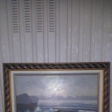 Arte: PRECIOSA OBRA DEL PINTOR PUERTO, MEDIDAS 92X79CM. Lote 194929633
