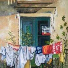Arte: LA COLADA-INMA ESCRICH. Lote 194930377