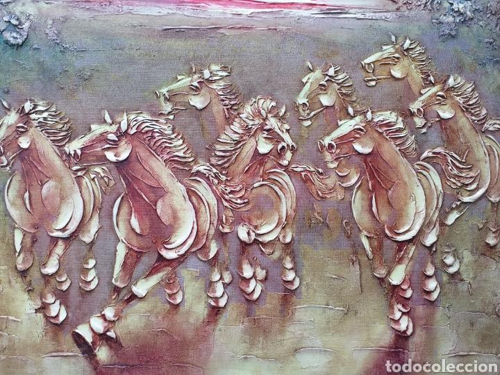 Arte: Gran cuadro al óleo enmarcado Boris Chezar - Foto 3 - 194932106