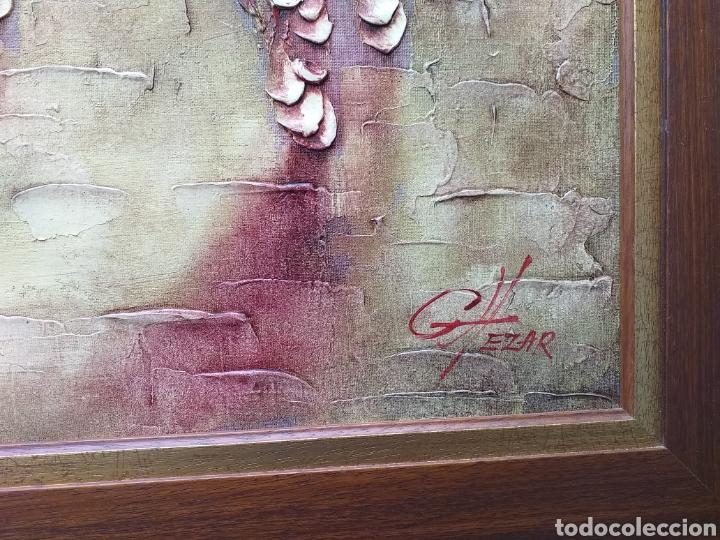 Arte: Gran cuadro al óleo enmarcado Boris Chezar - Foto 4 - 194932106