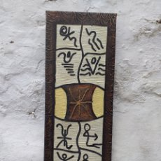 Arte: CUADRO EN LIENZO TIPO ÉTNICO 72X28 CM. Lote 194933185