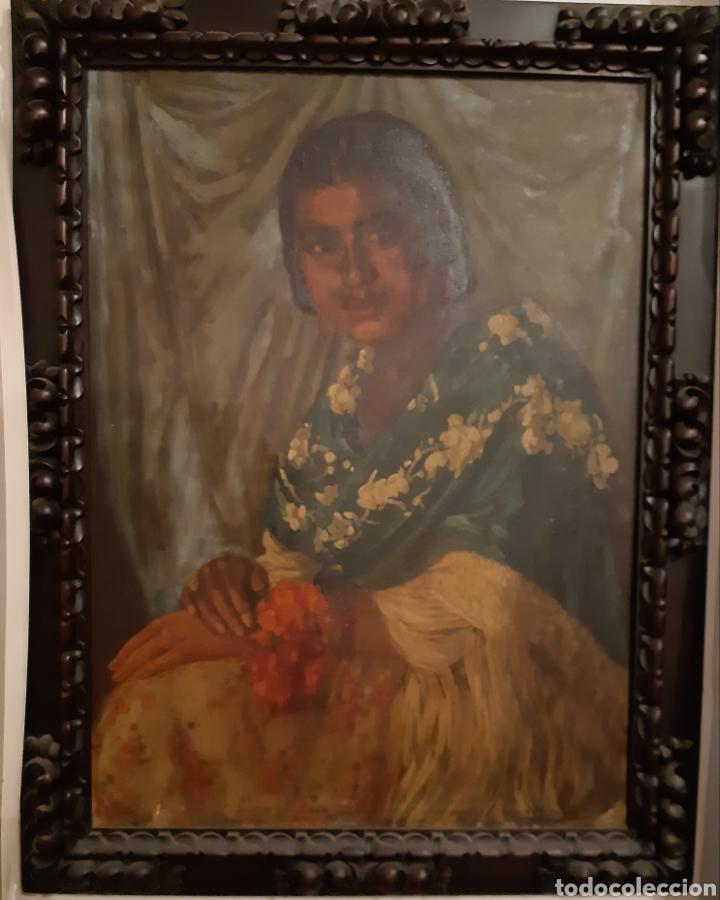 CUADRO MUY ANTIGUO (Arte - Pintura - Pintura al Óleo Antigua sin fecha definida)