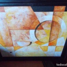 Arte: EXCELENTE OBRA DE MONCHO BORRAJO //ACRILICO SOBRE LIENZO //TITULO MUNDO DE LUZ INTIMO. Lote 194952266