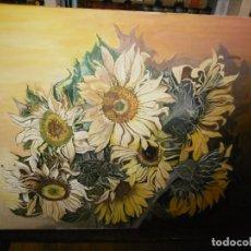 Arte: OBRA MAESTRA, LOS 7 GIRASOLES, ANONIMO.. Lote 194962038