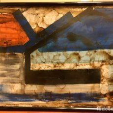 Arte: LOLA MASSIEU, 1986. 110 X 80 CM.. Lote 194963766